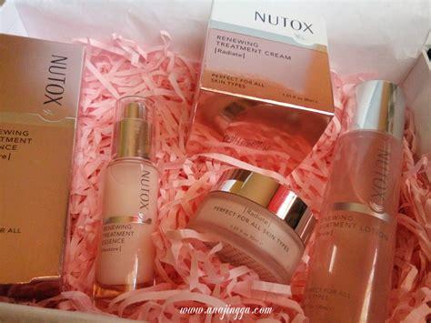 Pelembab Nutox selamat tinggal kulit wajah kusam dengan nutox renewing treatment anajingga
