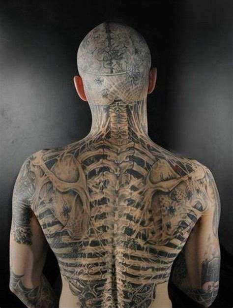 tattoo 3d in back back and head 3d tattoo design of tattoosdesign of tattoos