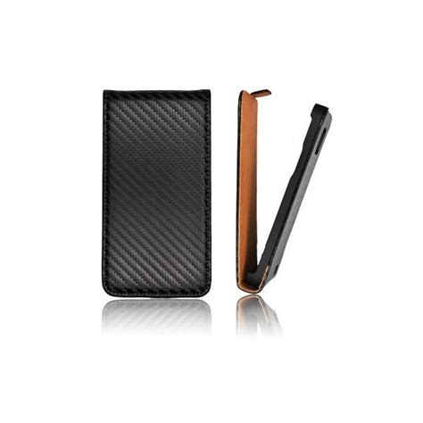 Slim Carbon Iphone 5 flip handytasche slim iphone 5 5s carbon schwarz