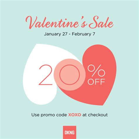valentines sales s day sale dkng