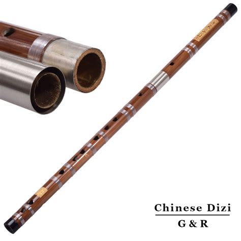 flute section chinese tradition bamboo flute two section dizi transverse