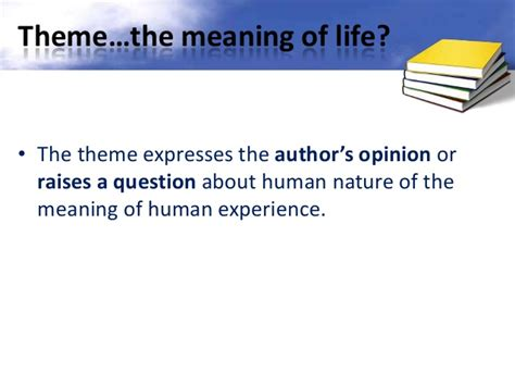 themes definition powerpoint finding themes in literature ppt