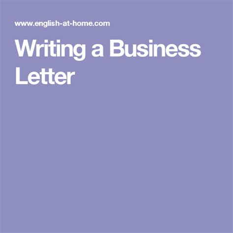 business letters writing tips writing a business letter writing tips