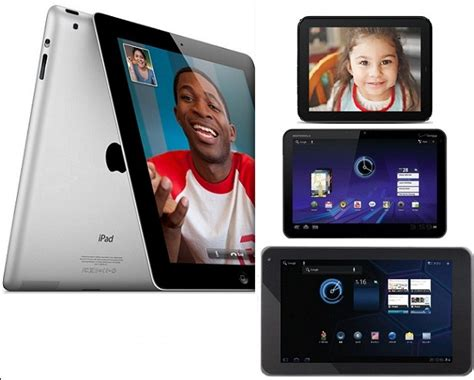 Hp Motorola Xoom apple 2 vs hp touchpad vs motorola xoom vs lg g slate gadgetian