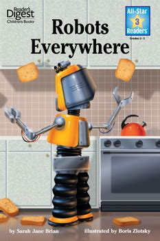 robots robots everywhere little robots everywhere reader s digest all star readers ebook by sarah jane brian boris zlotsky