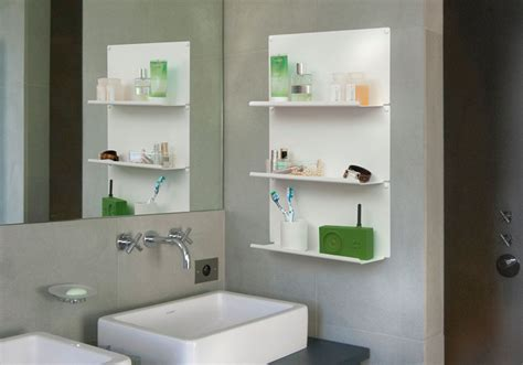 Wall Shelves Bathroom Set Of 4 Bathroom Shelves Quot Le Quot Teebooks