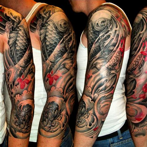 japanese sleeve tattoo designs for men 47 sleeve tattoos for design ideas for guys