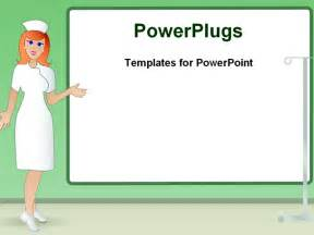 Nursing Powerpoint Template illustrated image of powerpoint template background