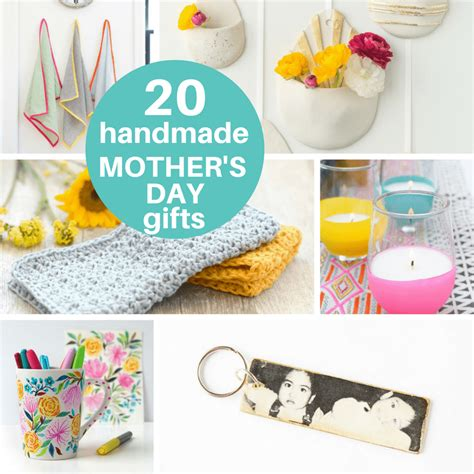 Handmade Gifts For Adults - a roundup of 20 s day gift ideas from adults