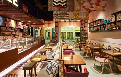 Home Bakery Kitchen Design by Fast Casual Street Cafes Bahrain Restaurant