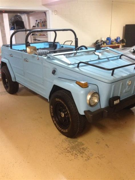 volkswagen thing blue seller of cars 1973 volkswagen thing blue 12