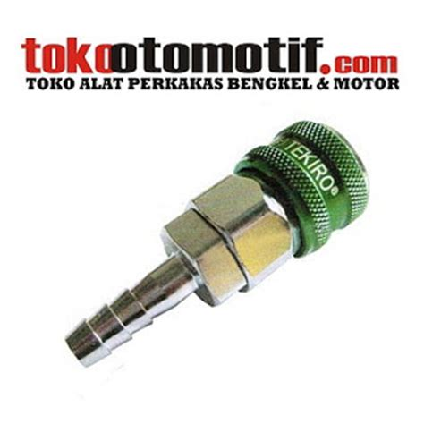 Coupler Angin Pm 20 Sambungan Selang Angin toko alat teknik coupler one touch 20 sh tekiro