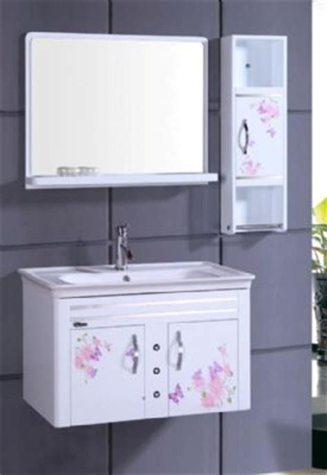 wall hung bathroom cabinet wall hung pvc bathroom vanity cabinet in white p7212 from