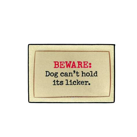 how can a puppy hold it at doormat can t hold it s licker wiener store