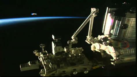 iss live nasa forgets to cut feed ufo broadcast live