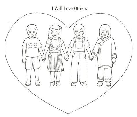 love coloring pages for sunday school love one another coloring pages coloring home