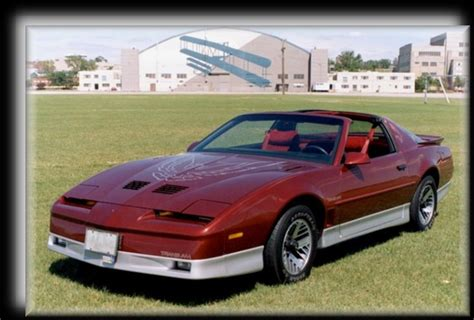 87 pontiac trans am bird 1987 pontiac firebird trans am