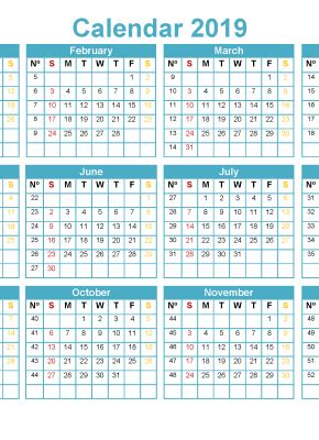 printable   month calendar template  word excel  printable  monthly