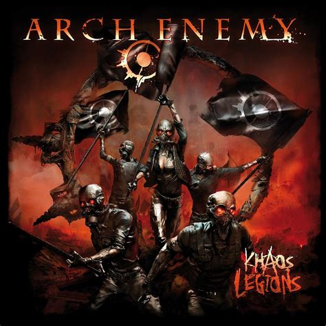 Kaos Band Metal Arch Enemy arch enemy illuminati backpatch r 252 ckenaufn 228