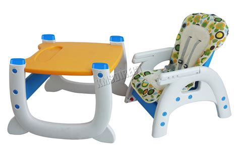 Foxhunter Baby Highchair Infant High Feeding Seat 3in1 Infant Feeding Table