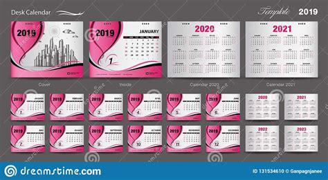 set desk calendar  template design vector calendar     cover design