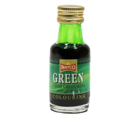 green food coloring natco green food coloring 28 ml