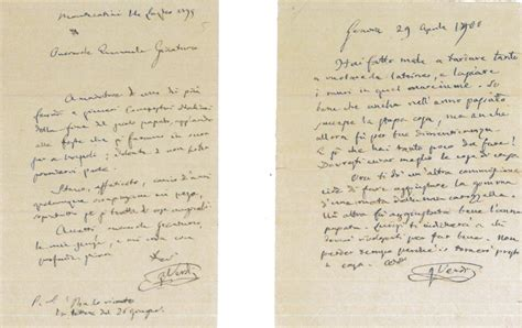 lettere di verdi ecco le lettere maestro giuseppe verdi acquistate dal