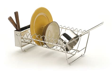 Stainless Steel In Sink Dish Rack rsvp stainless steel in sink dish rack strainer drainer