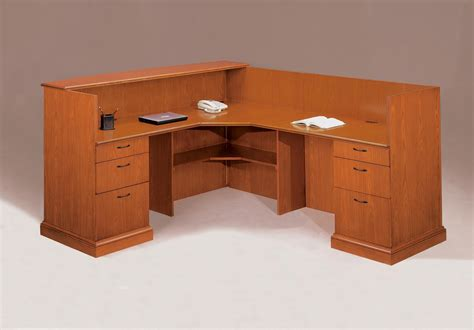 New Used Refurbished Office Furniture Podany S Reception Office Desk