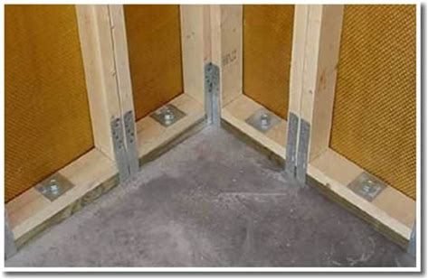 anchoring foamboard to concrete wall concrete anchor non replaceable for fastening concrete