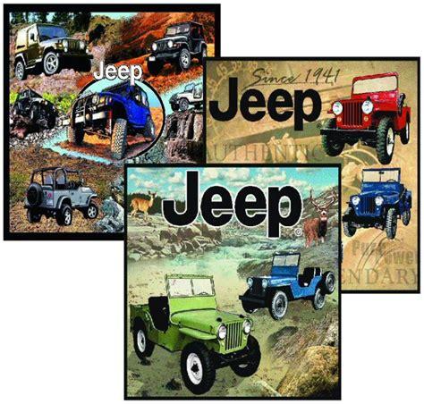 Jeep Blanket Jeep Merchandise Jeep 174 Throw Blanket Combo Quadratec