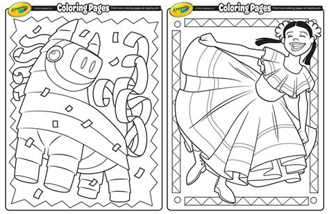 cinco de mayo coloring pages printables 4 mom