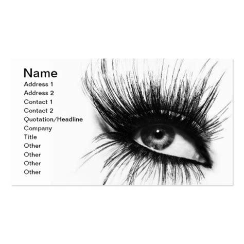Eyelash Business Cards Templates by Makeup Artist Eyelashes Card Business Card Zazzle