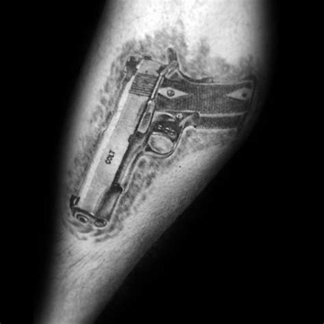 1911 tattoo designs 50 1911 ideas for handgun designs