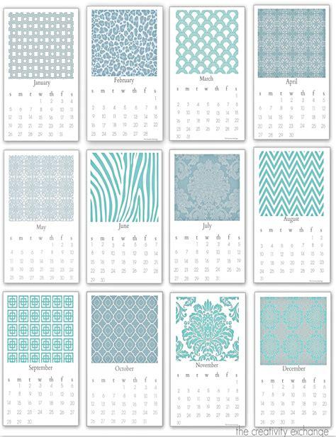 desktop calendar template free printable 2014 chic desktop calendar