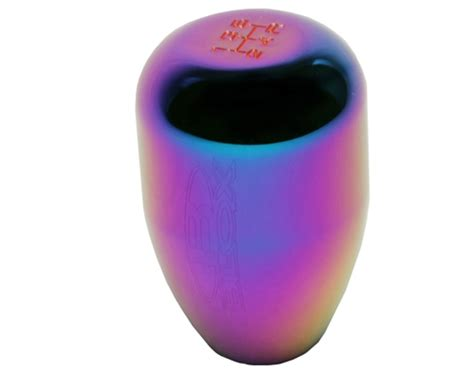 blox quot limited series quot 5 speed billet shift knob neo chrome