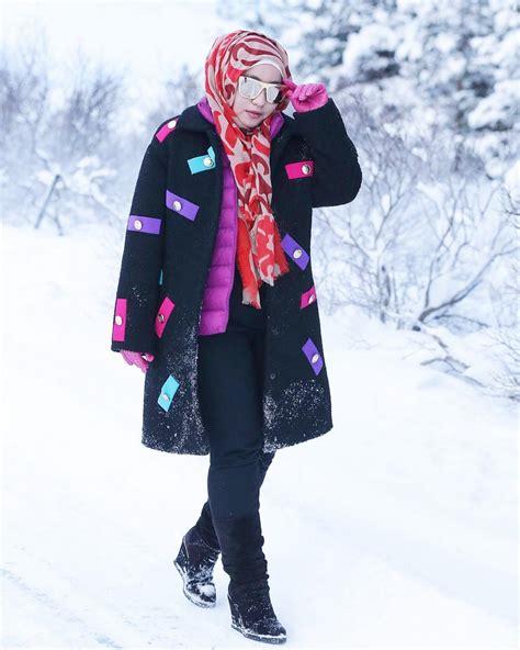 Blouse Cut Shoulder Mix Lace Merah Maroon Abu Abu Biru Hitam fashion brainfoto intip style musim dingin ala anniesa hasibuan fashion brain