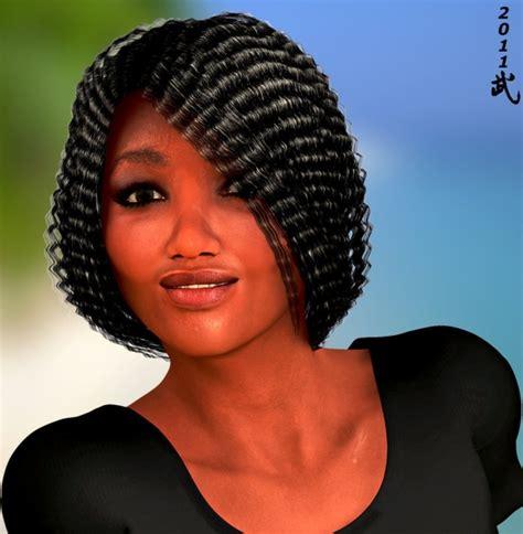 Galerry permed black hairstyles