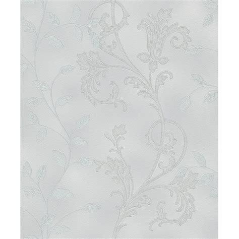 metallic glitter wallpaper uk rasch diamond floral leaf motif pattern textured wallpaper