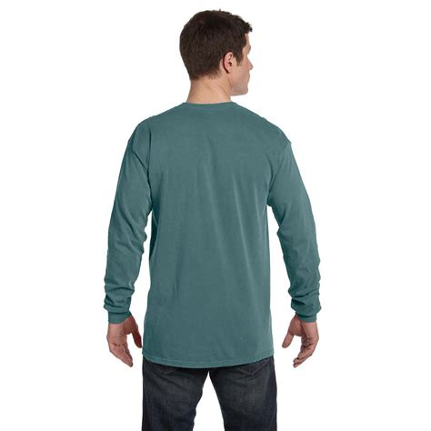 comfort colors blue spruce comfort colors s blue spruce 6 1 oz sleeve t shirt