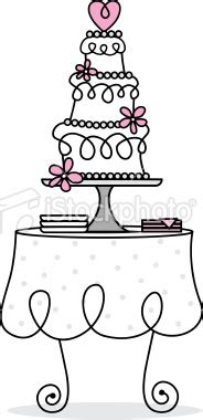 Wedding Food Clipart by Cake On The Table Clipart Clipground