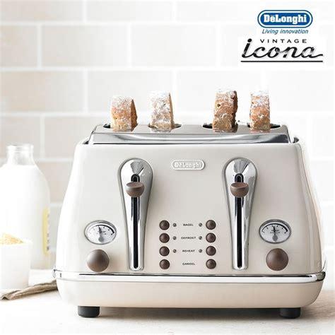 Retro Toasters For Sale Delonghi Icona Vintage 4 Slice Toaster Cto4003bg