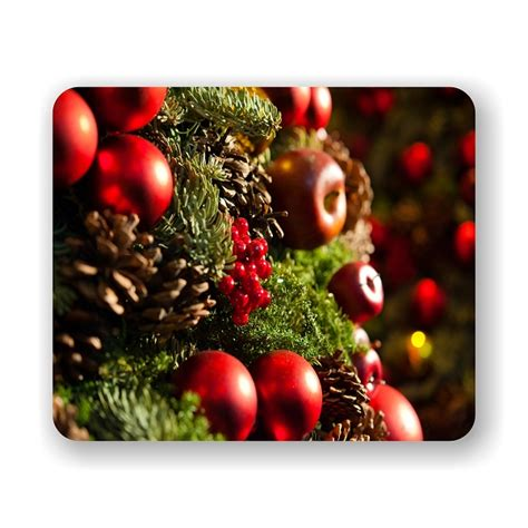 christmas tree mouse pad 9 25 quot x 7 75 quot
