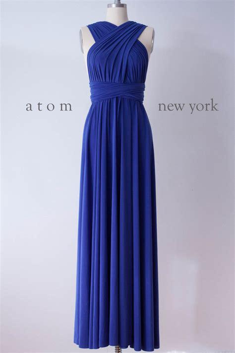46 Tefity Set 3in1 Royalblue royal blue infinity dress convertible bridesmaid dress