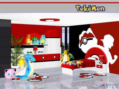 Artist Bedroom Ideas nynaevedesign s pokemon kids room