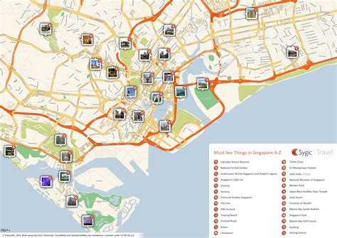 map of tourist about singapore city mrt tourism map and holidays