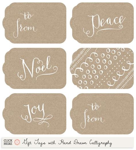calligraphy ribbon banner labels printables pinterest christmas tag gift tags and calligraphy on pinterest