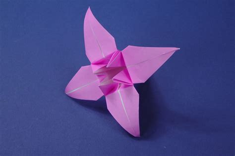 Origami Bud - origami origami flower tutorial how to make an