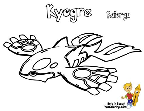 Pokemon Coloring Pages Kyogre | electric pokemon colouring pages castform deoxys