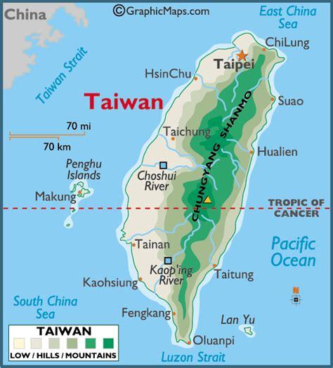 taiwan map asia taiwan map political regional maps of asia regional